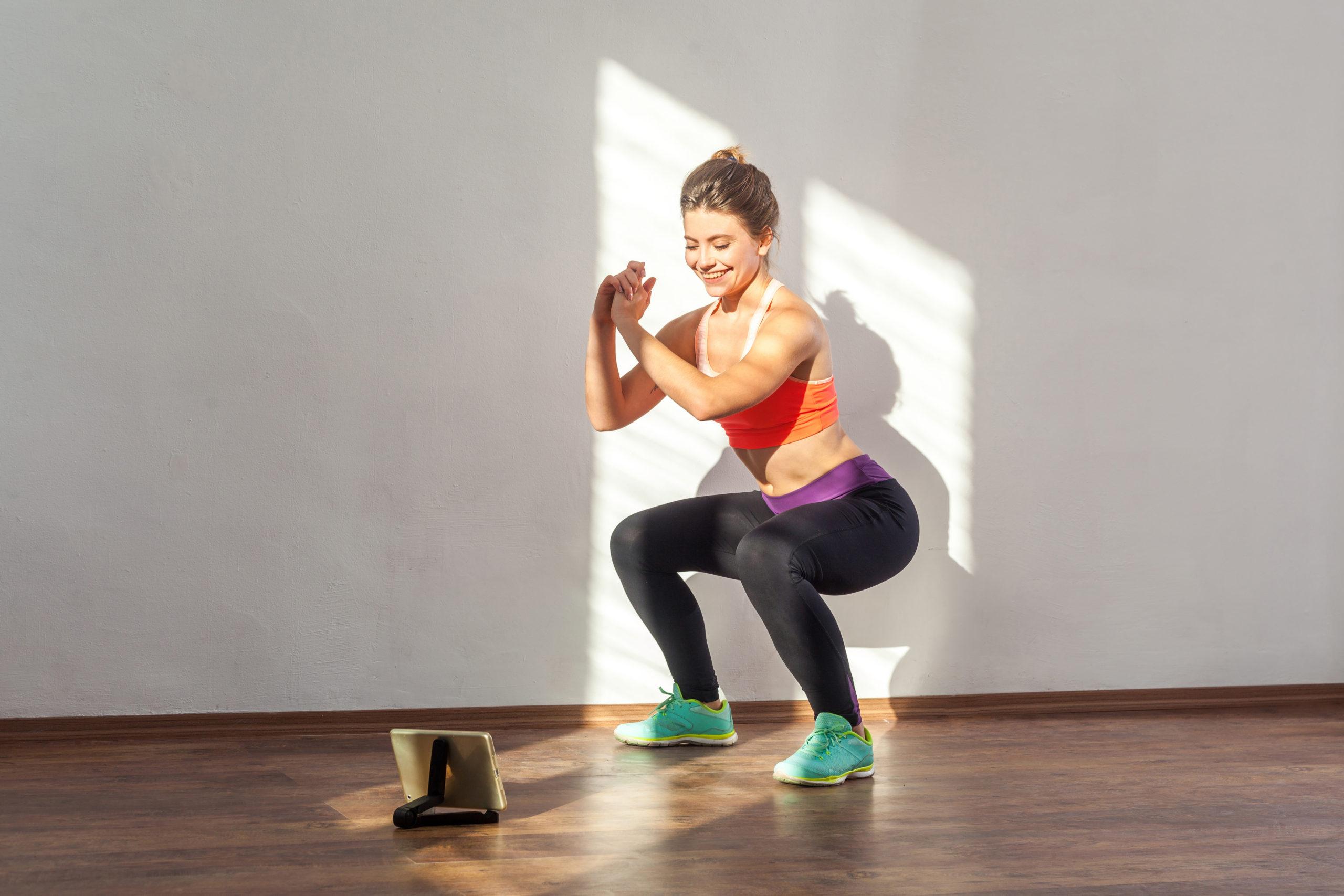 Control del peso, energy flux, mujer, ejercicio, sentadilla